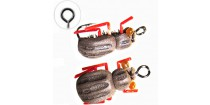 Floating Jig Realistic Beetle Brown Foam FG23